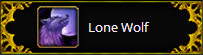 Warcraft Lone Wolf Talent