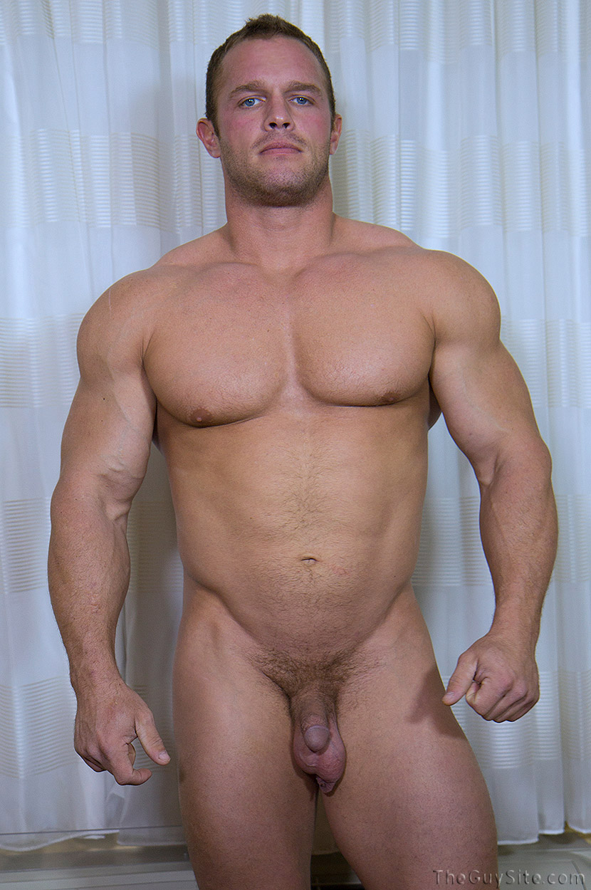 Muscle men porn something