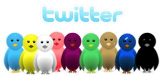 twitter burung terbang berbagai warna di blog