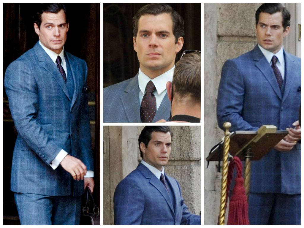 Henry Cavill News The Suit The Nod The Latest On The Man From U N C L E