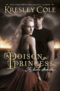 Review of the audiobook for The Poison Princess by Kresley Cole