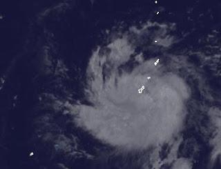 Tropischer Sturm 3-W bei Guam wird wahrscheinlich zu Taifun SANVU, Sanvu, aktuell, Pazifik, Taifun Typhoon, Taifunsaison, Taifunsaison 2012, Mai, 2012, Satellitenbild Satellitenbilder, Vorhersage Forecast Prognose,