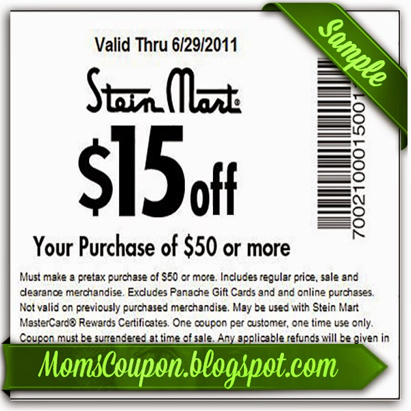 Stein Mart has bedding, household item, clothing, accessories and more for the entire family. You may find a lot of items you've seen in other department store, but the prices are much more than Stein Mart's discount prices. Get big discounts with 46 Stein Mart coupons for December , including 22 Stein Mart promo codes & 24 deals.
