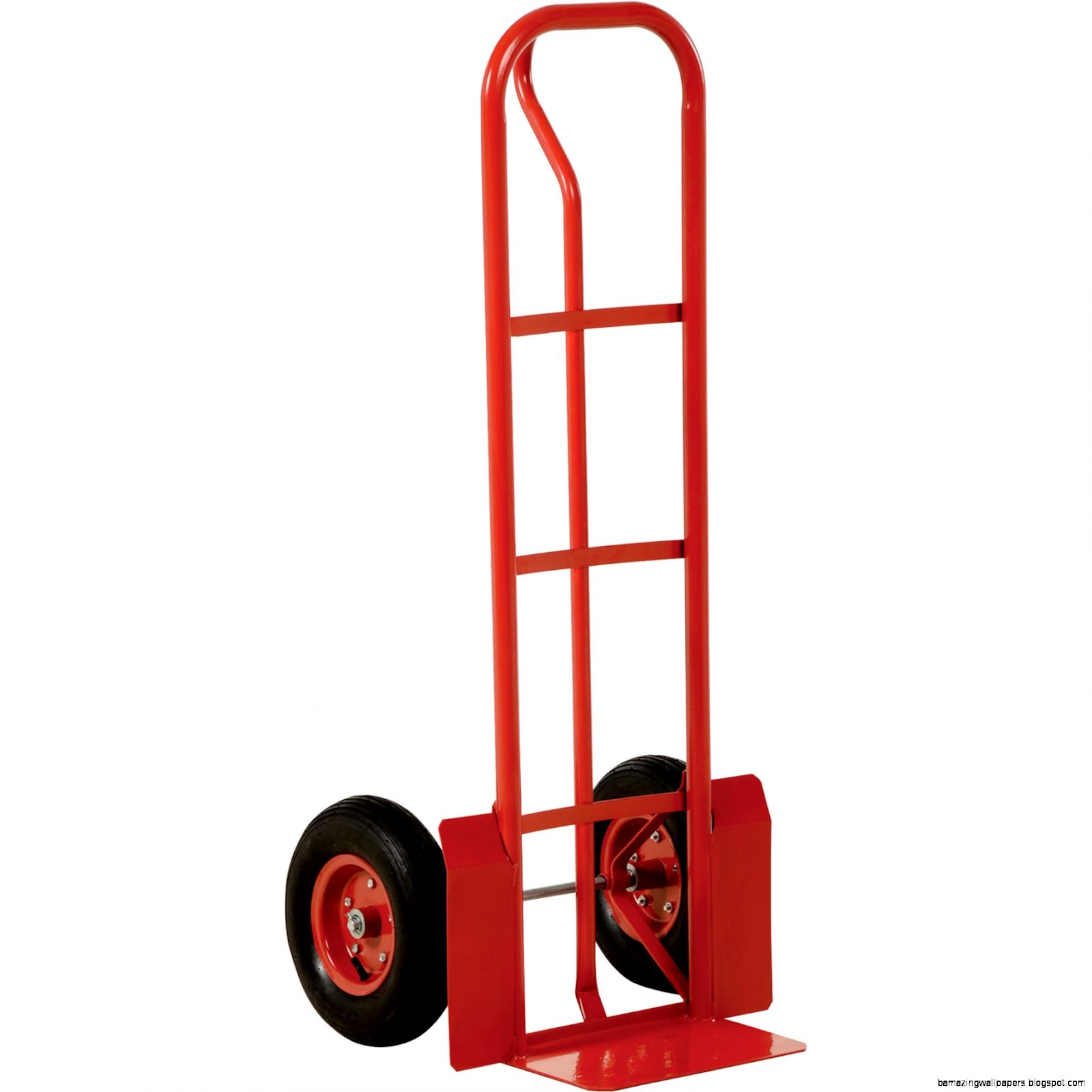 Vestil P Handle Hand Truck — Steel 600 Lb Capacity 13in x 4in