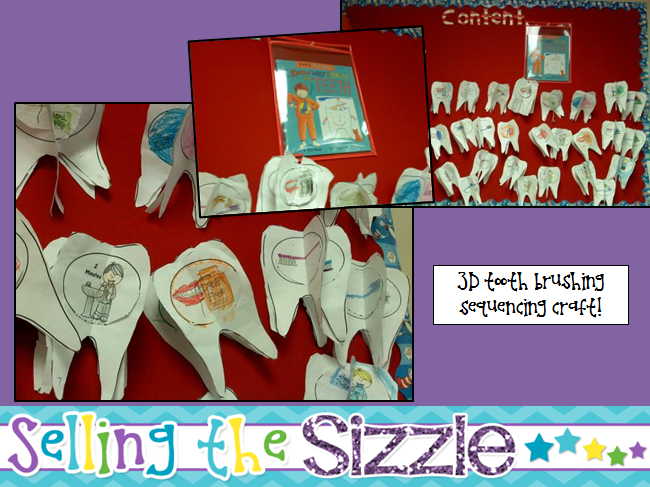 http://www.teacherspayteachers.com/Product/Dental-Health-Craft-3D-Tooth-Brushing-Sequencing-Craftivity-1088544