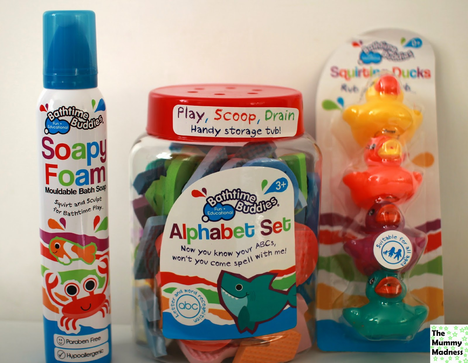 Mummy\'s Little Blog: H&A Bath time buddies