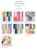 Designerpapier und Bänder-Share FS 2018