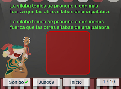 http://www.mundoprimaria.com/juegos/lenguaje/ortografia/3-primaria/162-juego-silaba-tonica-atona/index.php