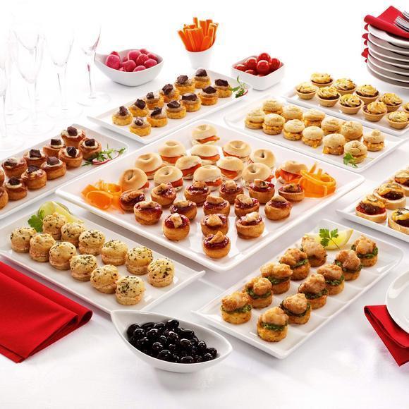 Alba hogar mesa buffet pintxos for Canape definicion