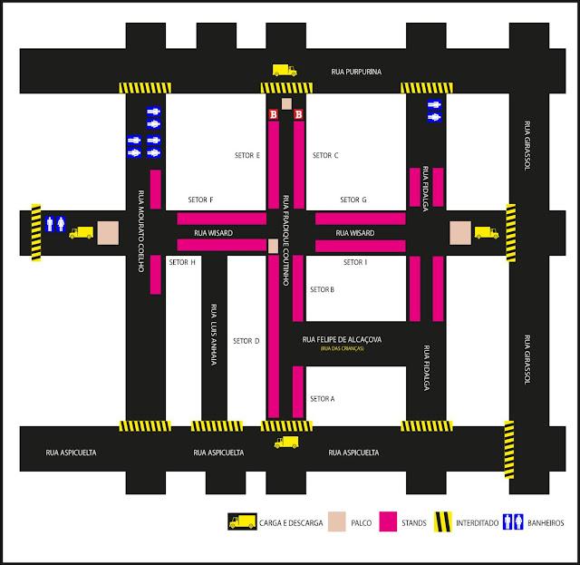 localização da belecar no mapa da feira vila madalena 2015