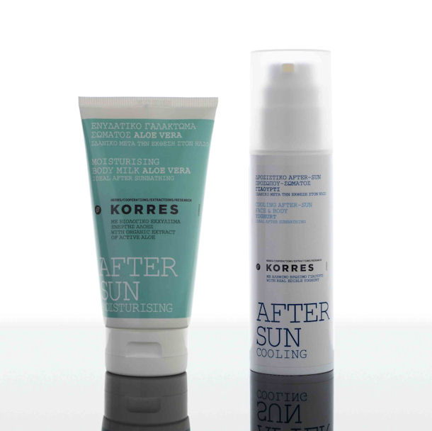 Korres, Cooling After Sun Face & Body Yoghurt & Korres, After Sun, Moisturising Body Milk Aloe Vera