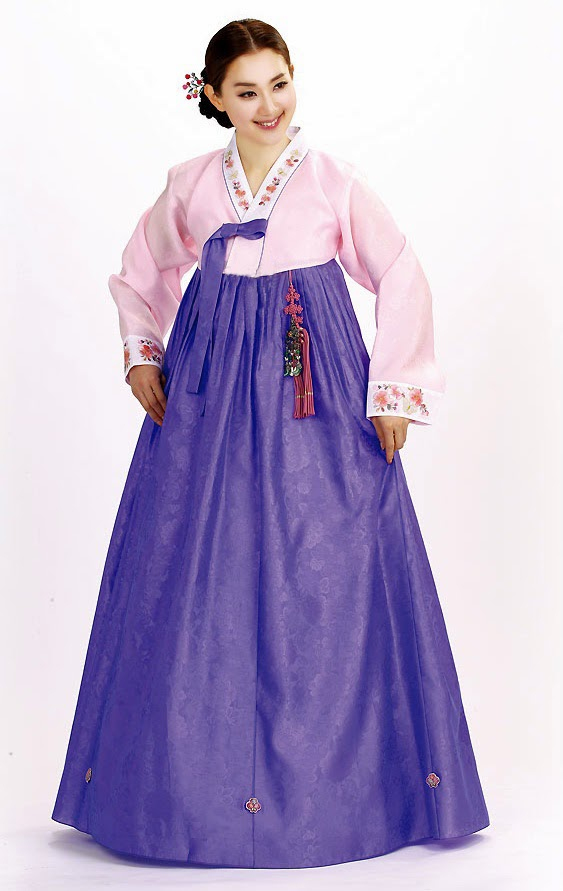 Elegant Costumes Custom Made Women Hanbok Dress Korean National Dress Korean