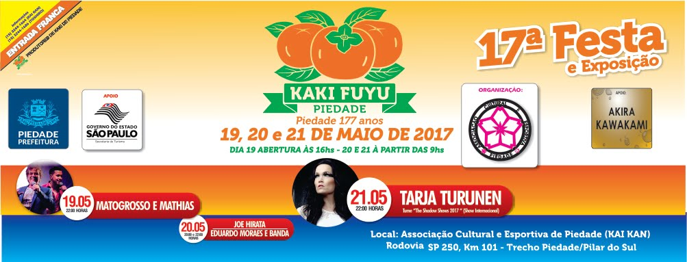 17ª Festa do Kaki Fuyu