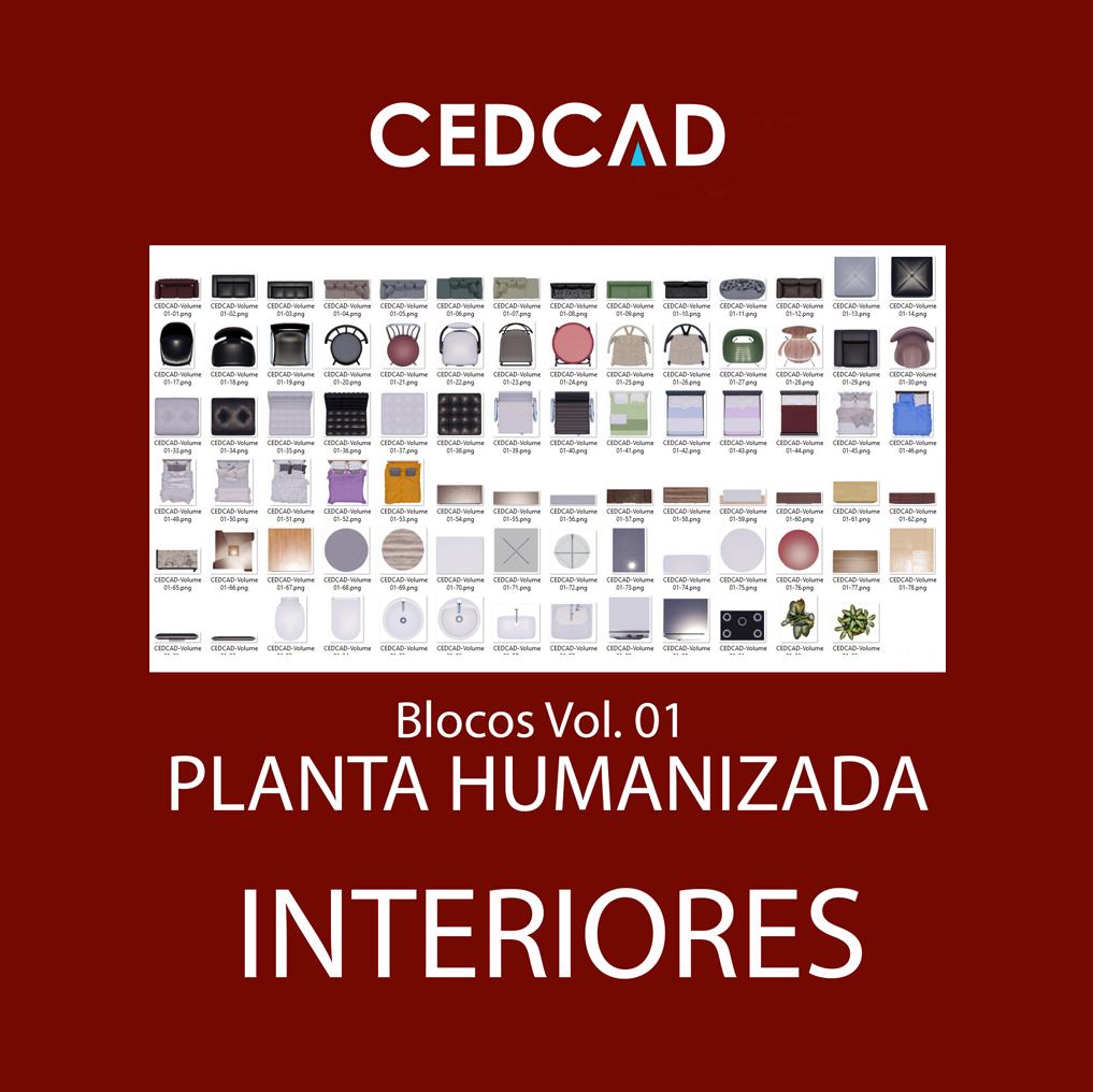 Planta Humanizada Interiores Vol. 01