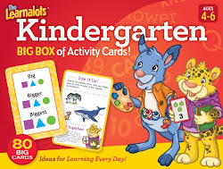 Learnalot's Kindergarten Activity Card Set