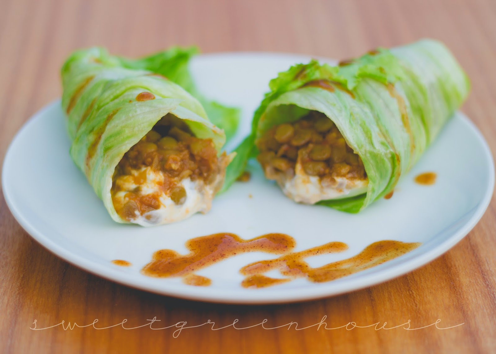 vegetarian gluten free vegan mexican lentil wrap recipe