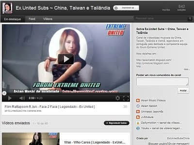 Ex. United Subs ~ China, Taiwan, Tailândia ~