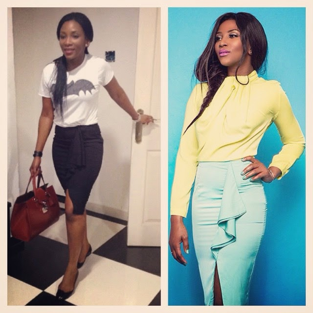 Check Out Genevieve Nnaji's Latest Looks