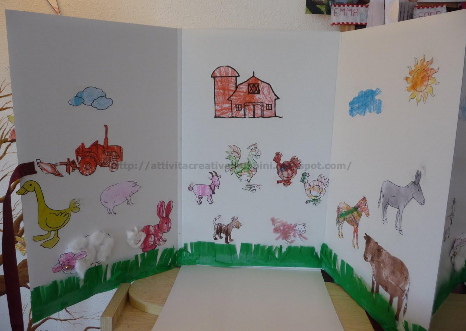 Libro per bambini la fattoria dello zio tobia for Disegni per la casa degli artigiani
