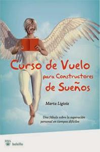 Portada original de Curso de vuelo para constructores de sueños, de Marta Ligioiz