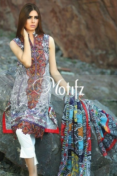 Motifz New Summer Lawn Collection 2015