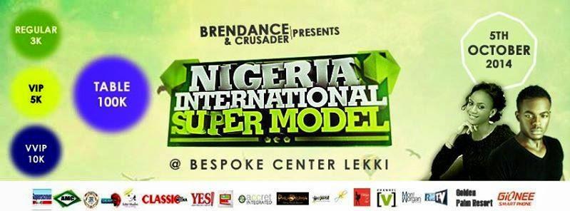 NIGERIA'S INTERNATIONAL  SUPPERMODEL  2014