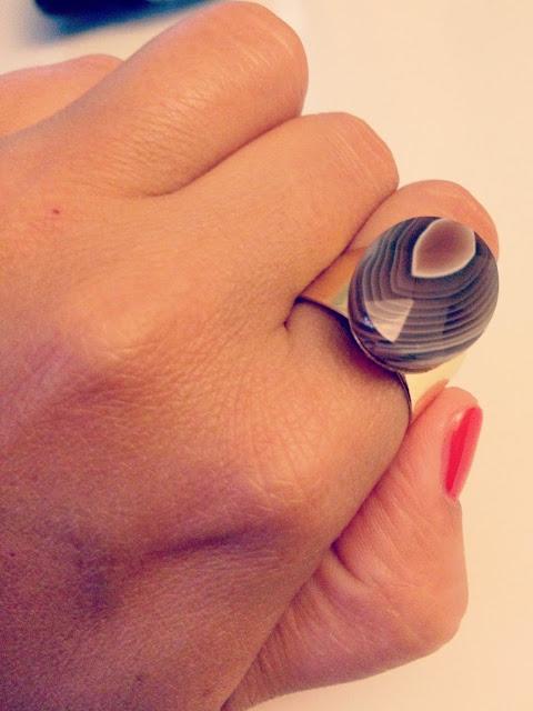 DIY das mach ich selber! Edelstein Ring