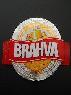 Brazilian beer brahma