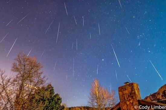 Malam Ini Puncak Hujan Meteor Quadrantid