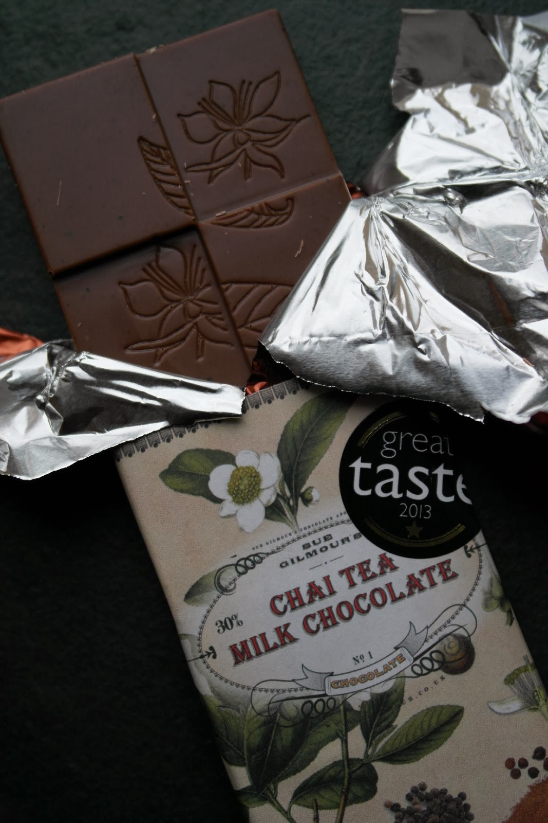 Chai Tea Milk Chocolate by Sue Gilmour