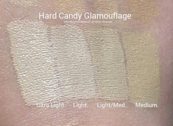 Hard Candy Glamouflage/Glamoflauge Concealer