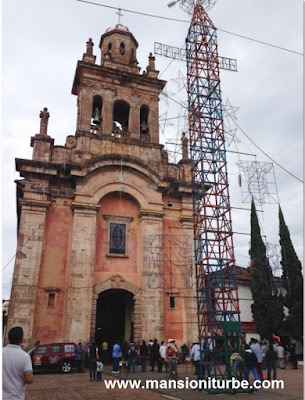 Sancturary of the Virgin of Guadalupe in Pátzcuaro