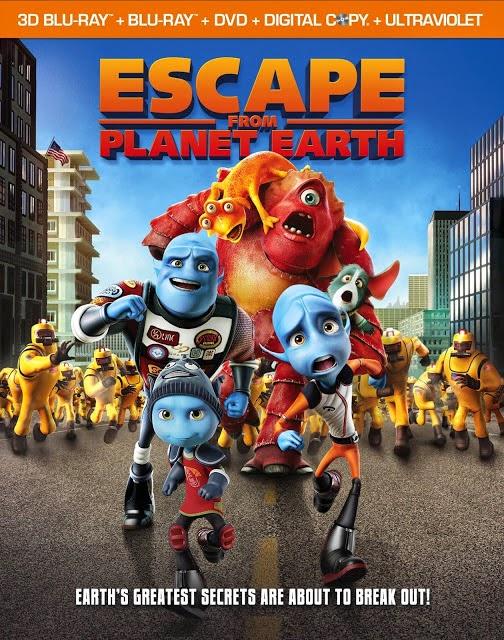 ดูการ์ตูน Escape from Planet Earth  แก๊งเอเลี่ยน ป่วนหนีโลก