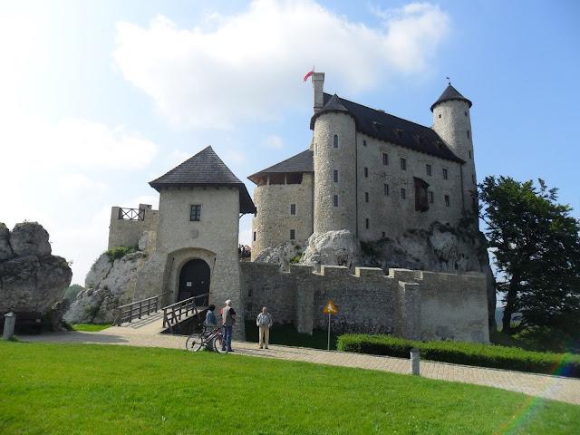 szlaki rowerowe jura krakowsko częstochowska - zamek bobolice