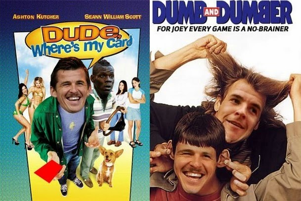 Dude, Where's My Card, Dumb and Dumber, Joey Barton, Twitter, Movie poster, funny film poster, funny, meme,