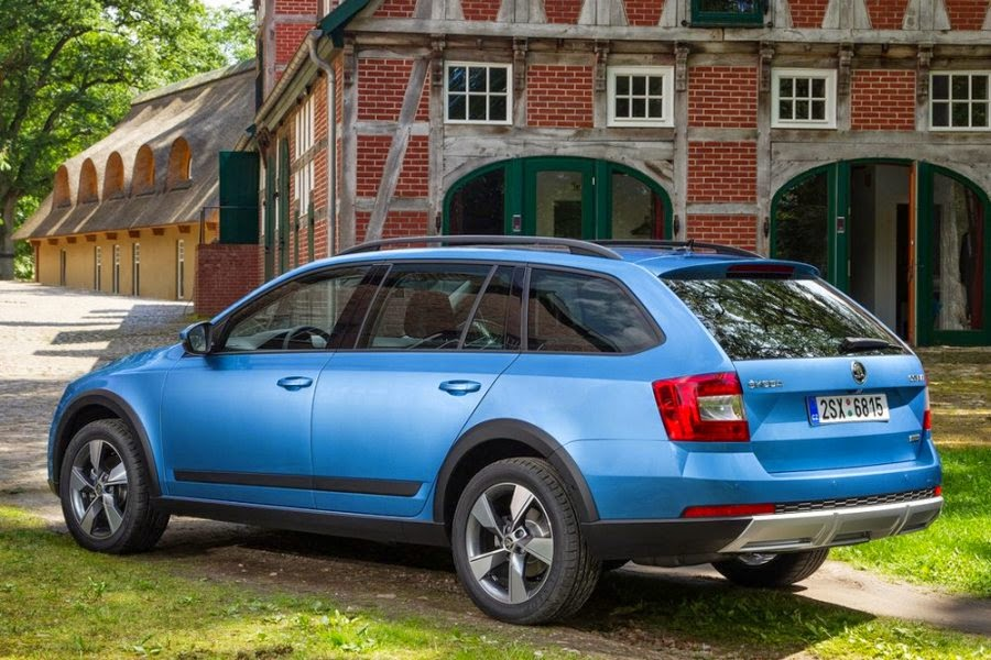 Skoda launched a new off-road wagon Octavia Scout 2016