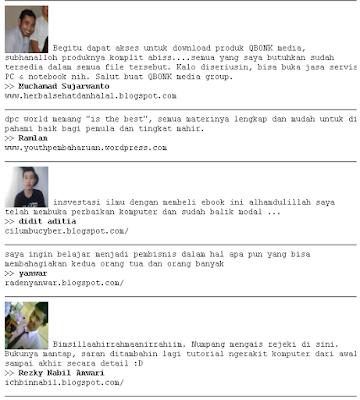 Testimonial Member Qbonk Media Group