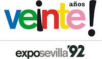 XX Aniversario de la Expo92 de Sevilla, el viernes 20 y sábado 21 de abril de 2012