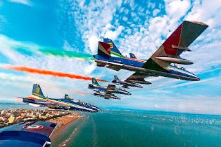 55° anniversario delle Frecce Tricolori