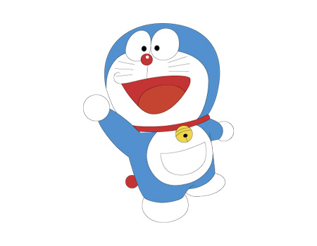 Wallpaper Doraemon cartoon picture