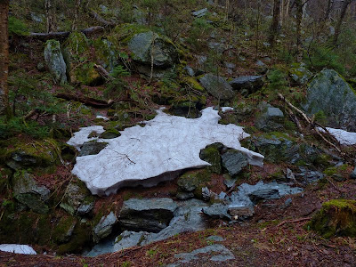 Still snow in VT in May