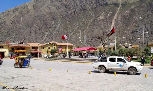 Ollantaytambo, Plaza de Armas