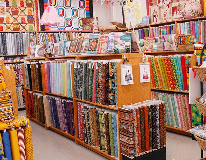 All Bolt Fabric is 20% off 'til May 18, 2014