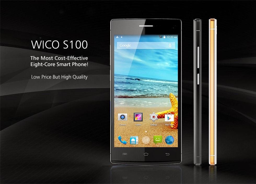 Wico S100, Spesifikasi HP Android Octa Core Harga 1 Jutaan