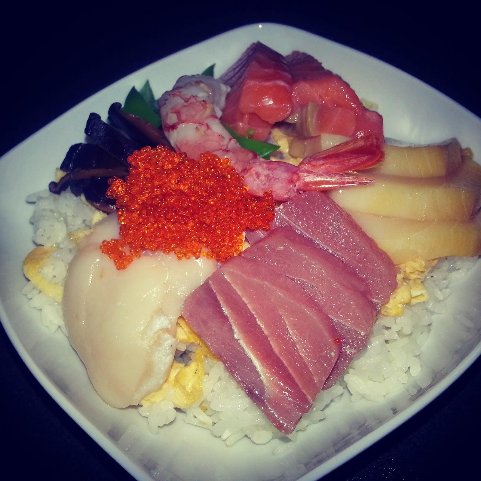Chirashi d 39 picoteo - Cocinar sushi facil ...