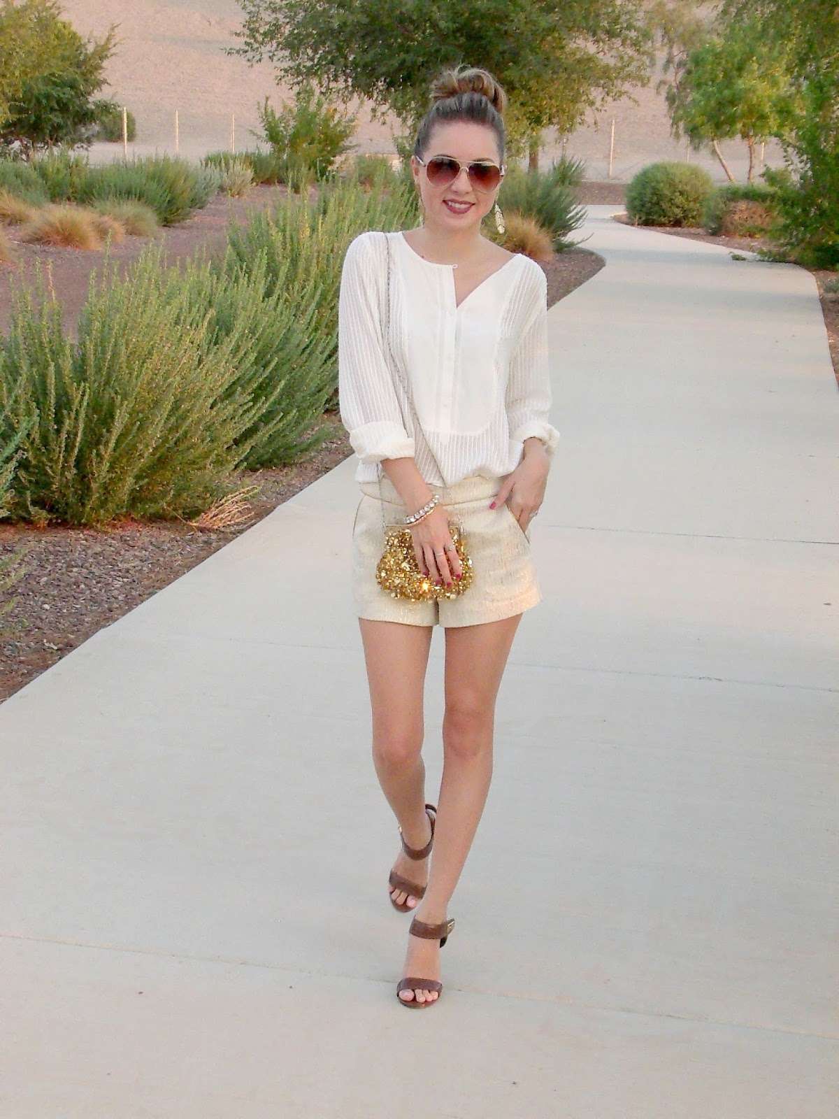 arizona blogger styling with loft and forever 21