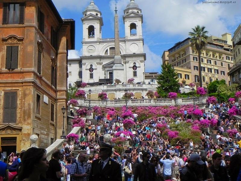 Spanish steps inflorite
