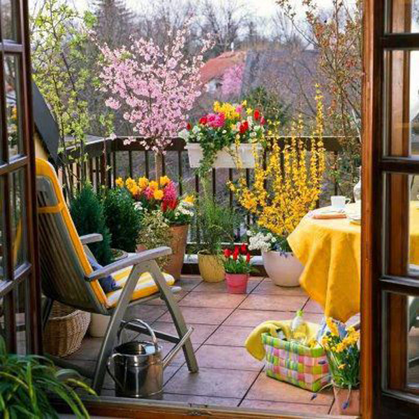Small Garden Ideas: Beautiful Renovations for Patio or Balcony ...