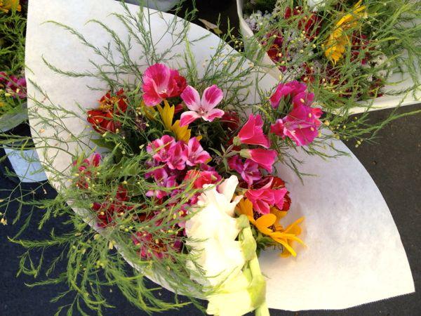NowThisLife.com - Elk Grove Farmer's Market - flowers