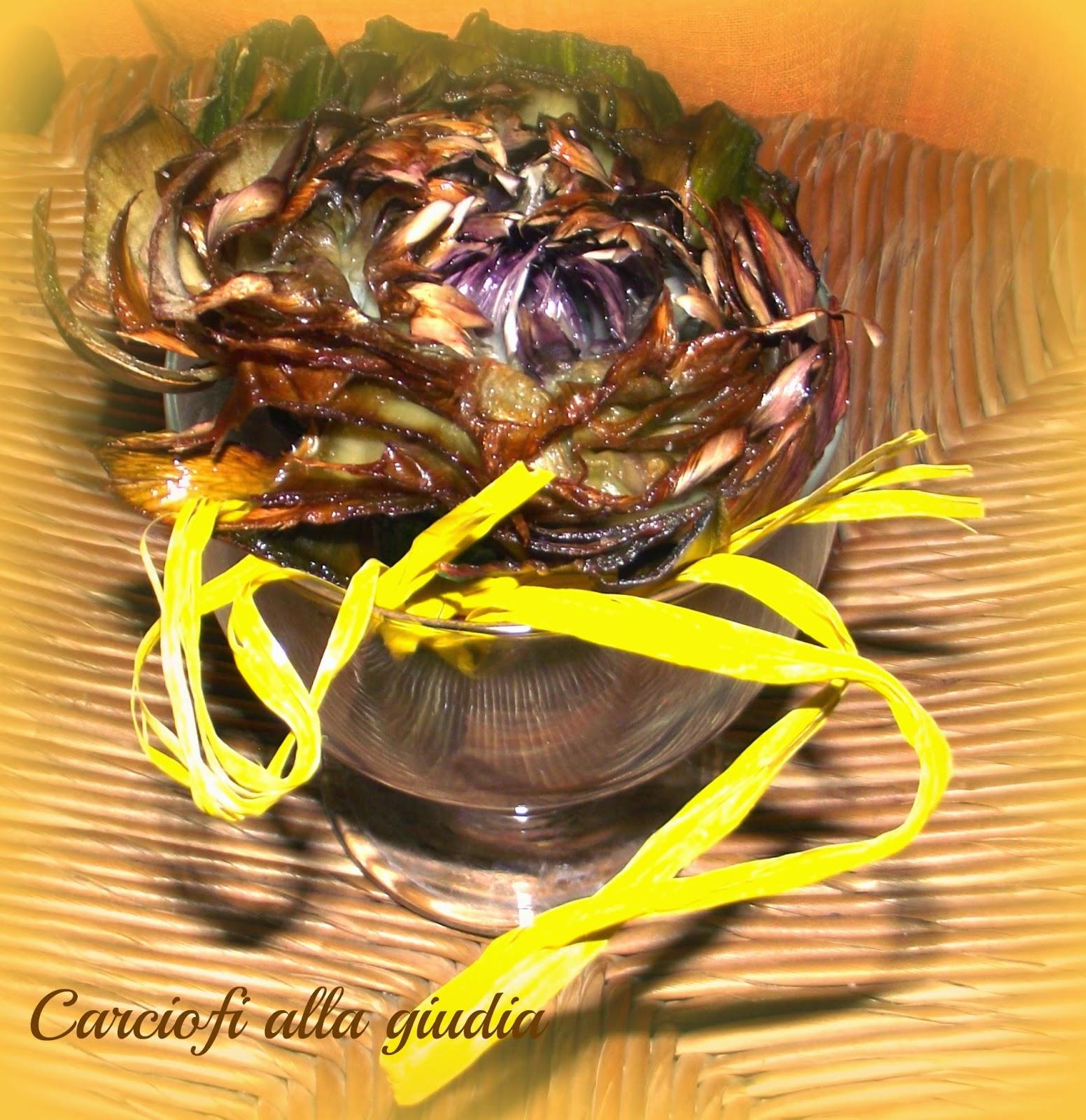 i carciofi alla giudia di ivano er mago der fritto romano